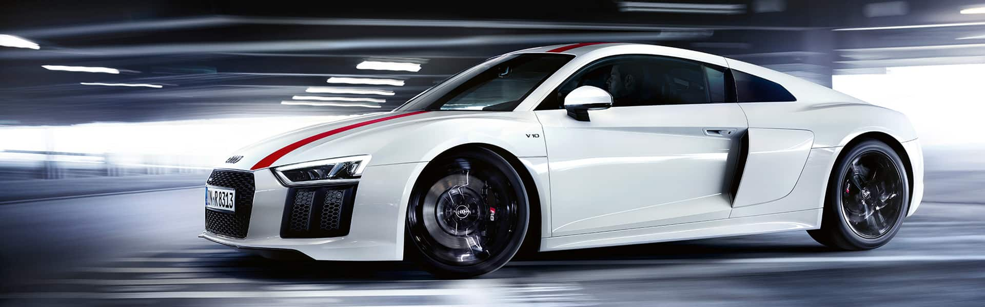 The new Audi R8 Coupé V10 RWS.
